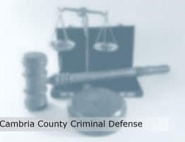 cambria county criminal defense